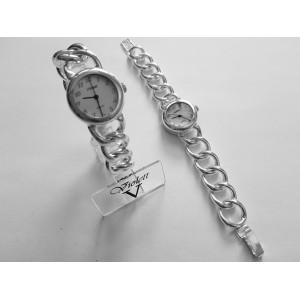 zegarek srebrny 04-08 ł.