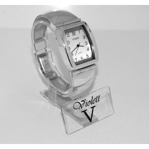 Zegarek srebrny 03-18 b.